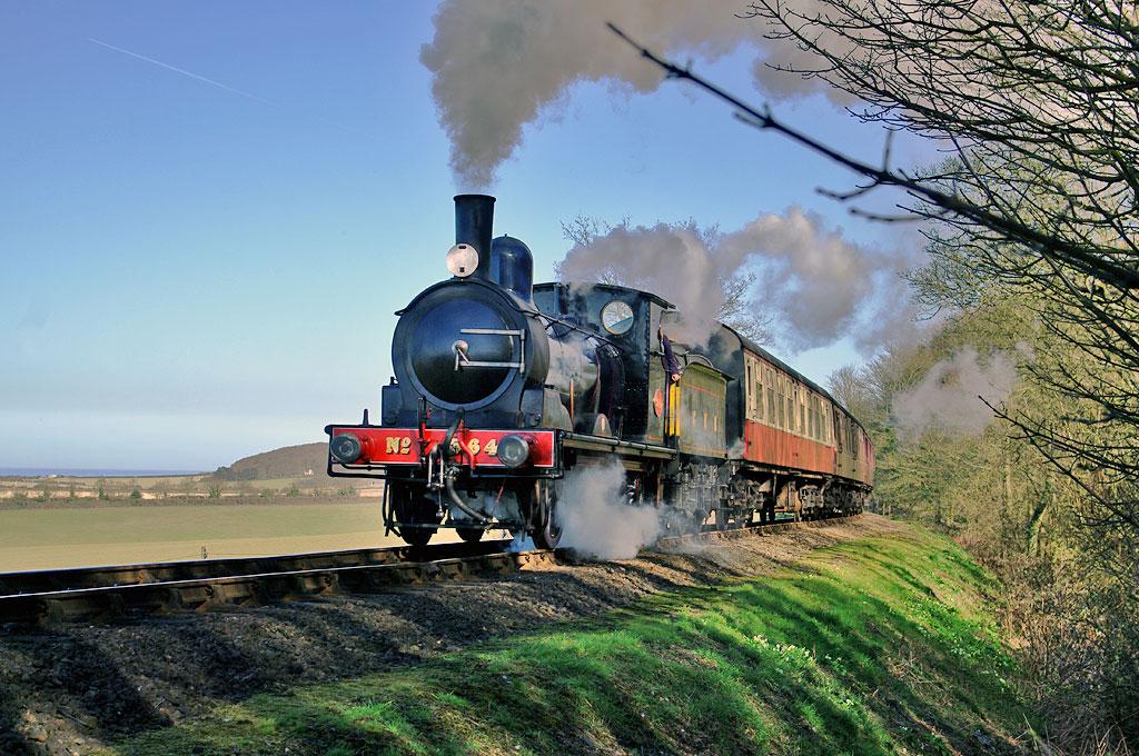 North Norfolk Railway at Kelling